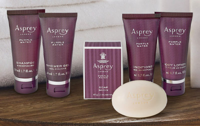 Lifestyle Image of Asprey Travel Set