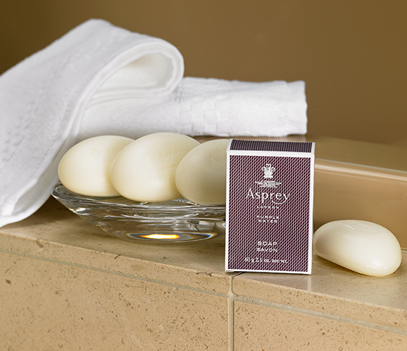 The Ritz Carlton Hotel Shop Asprey Purple Water Bar Soap