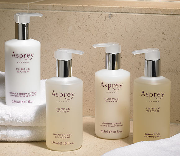 Asprey Purple Water Hair & Body Care Set
