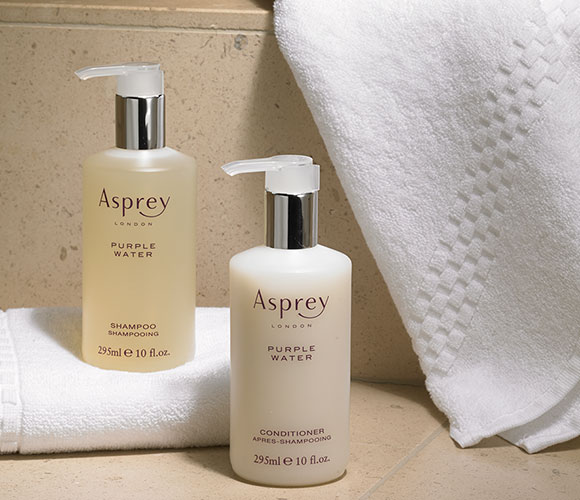 The Ritz Carlton Hotel Shop Asprey Purple Water Hair