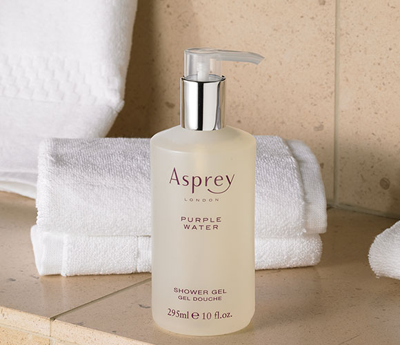 The Ritz Carlton Hotel Shop Asprey Purple Water Shower