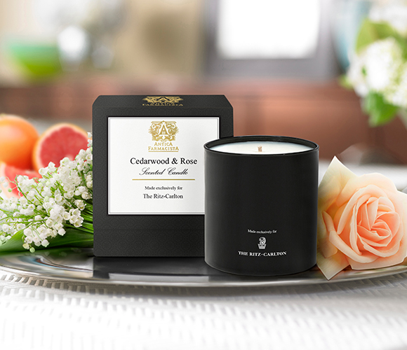 Cedarwood & Rose Candle