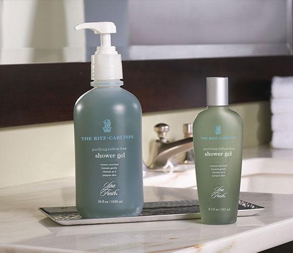 The Ritz Carlton Hotel Shop Spa Fresh Purifying Shower