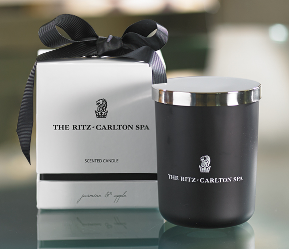 The Ritz-Carlton Spa Jasmine & Apple Candle