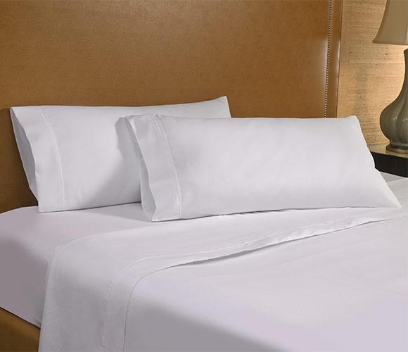 Ritz Carlton Hotel Shop White Serenity Spa Sheet Set