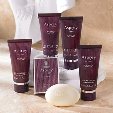 Asprey Purple Water Travel Set
