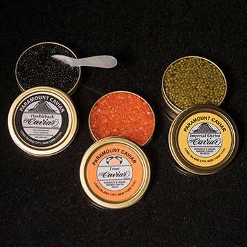 Assorted Caviar Trio