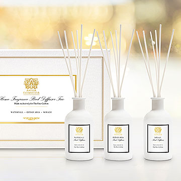 White Reed Diffuser Set