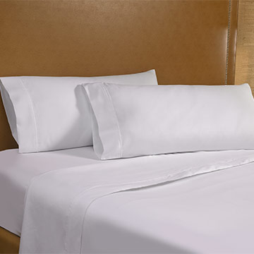 Elegant White Serenity Spa Sheet Set