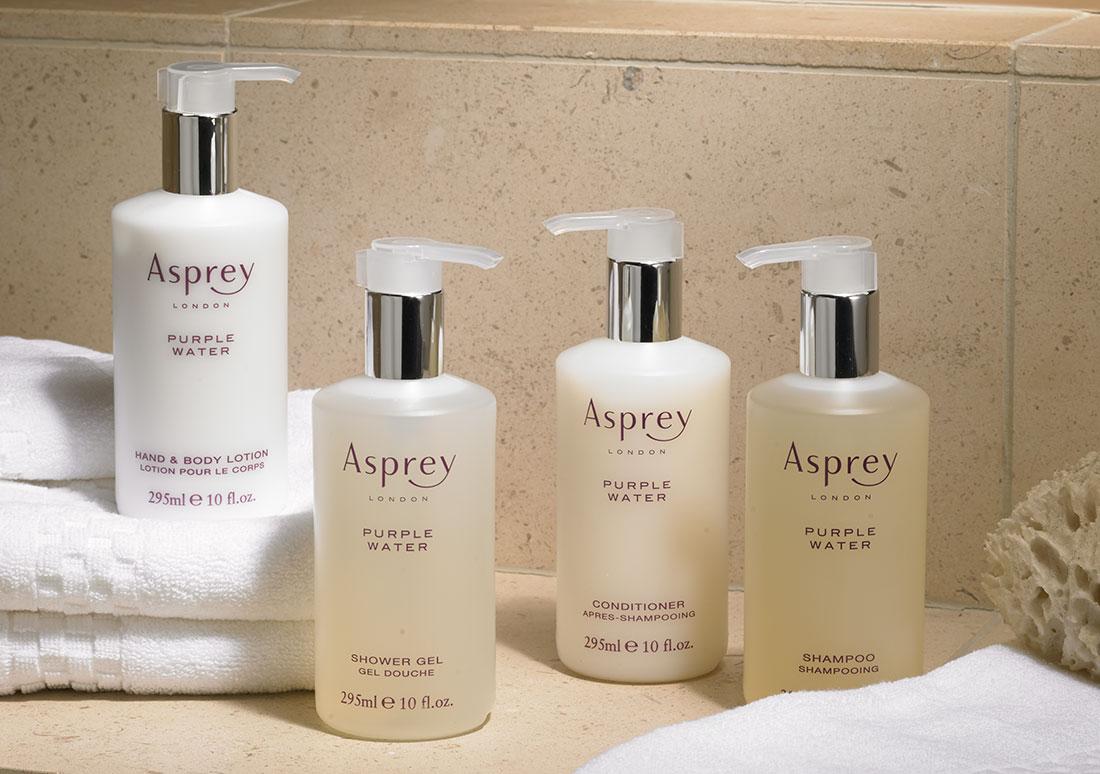 Asprey Purple Water Hair Body Care Set Ritz Carlton Hotel Shop