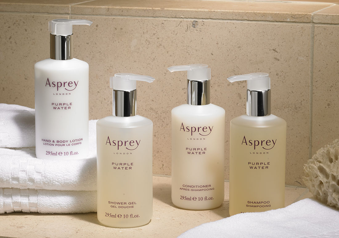Ritz-Carlton Hotel Shop - Asprey Purple Water Hair & Skincare Set ...
