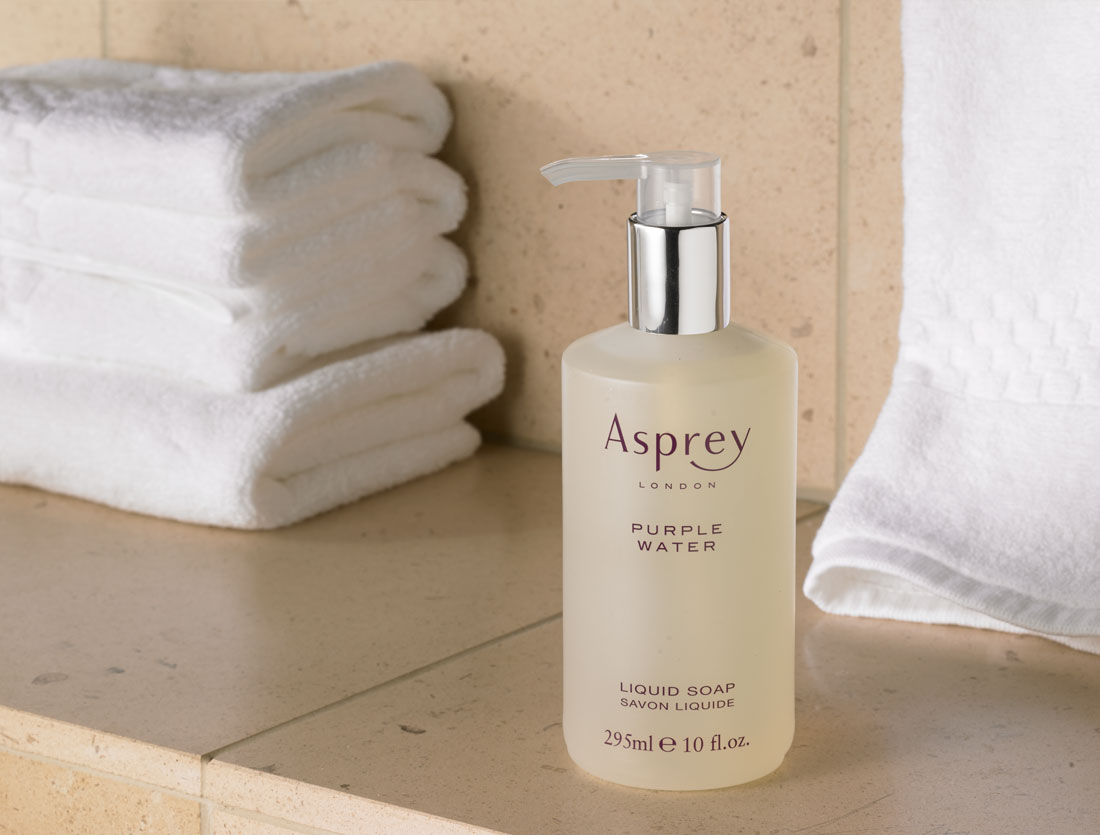 Ritz Carlton Hotel Shop Asprey Purple Water Liquid Soap
