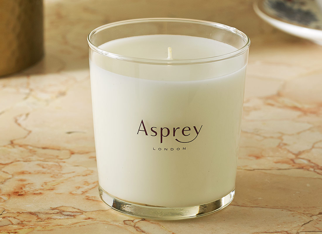 Attractive Asprey Purple Water Scented Candle