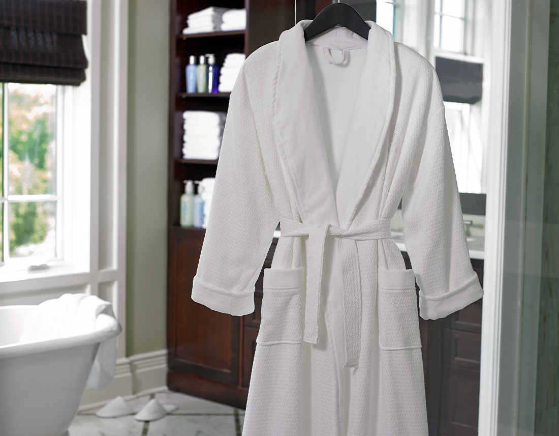 Ritz-Carlton Hotel Shop - Diamond Waffle Robe - Luxury Hotel Bedding ...