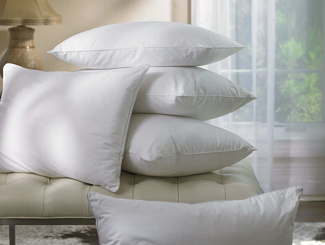 Luxury Decorative Bed Pillows : Ritz-Carlton Hotel Shop - Down Alternative Pillow - Luxury Hotel Bedding, Linens and Home Decor