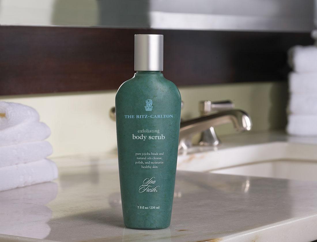 The Ritz Carlton Hotel Shop Spa Fresh Body Scrub