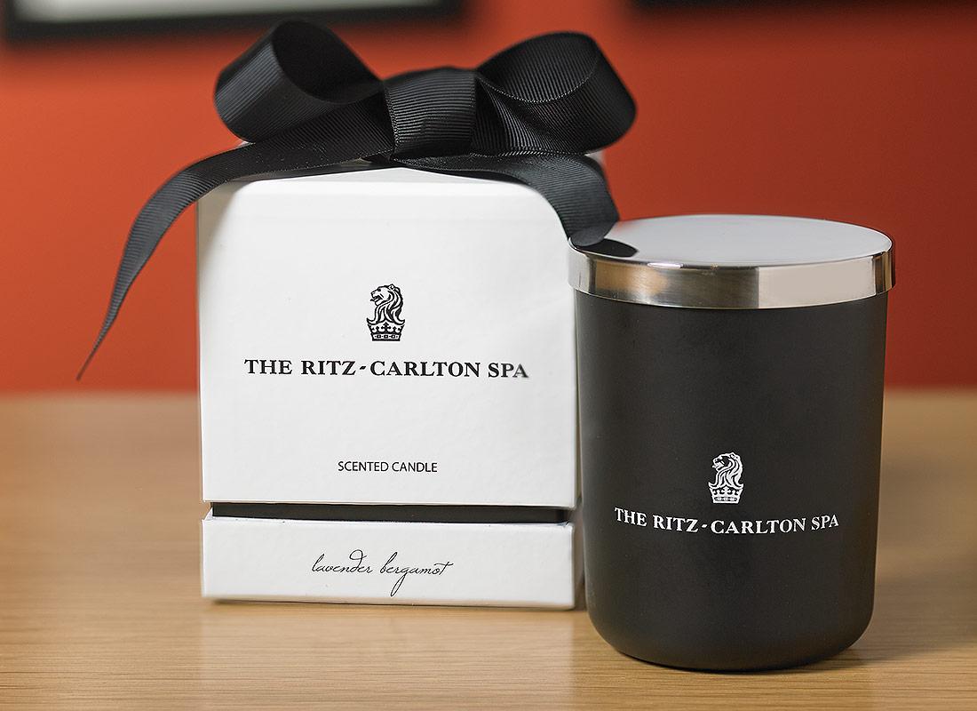 The Ritz Carlton Hotel Shop The Ritz Carlton Spa Lavender Amp Bergamot Candle Luxury